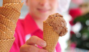 Kugel Eis gratis zum Kindertag